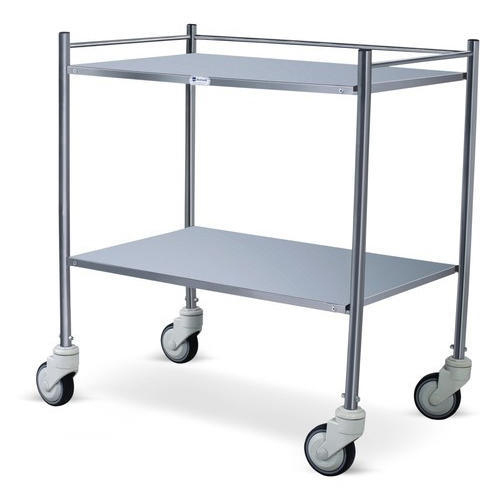 Stainless Steel SS Instrument Trolley
