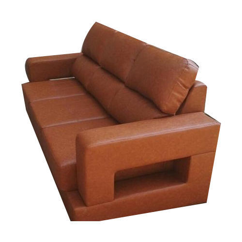 Brown 3 Seater Recliner Leather Sofa Rs 80000 Piece Deeaa Comfort