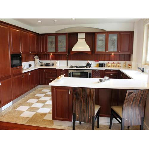 On G Shape Modular Kitchen, Rs 150000 /unit, Urban Homez