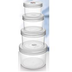 Round Packing Container