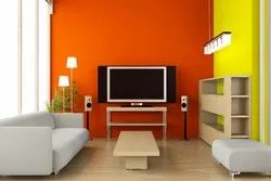 Living Room Interior Painting Contract, Paint Brands Available: Asian Paints, Type Of Property Covered: Residential