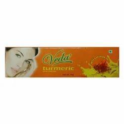 Aloe Vera Turmeric Veda Turmeric Skin Cream, Type Of Packaging: Tube, Packaging Size: 15 G