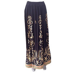 Satin Designer Long Skirt