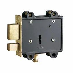 Golden Jainson Brass Door Lock with Latch