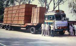 Closed 4-5 Days Close Body Container Service, Gurgaon, Capacity Size Of The Shipment: 250-700 Kg