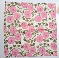 Face Cover Cotton Napkin, Size: 16x16 Inches