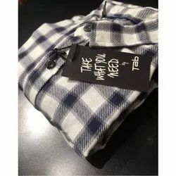 Two Of Ten Checked Cotton Casual Shirt