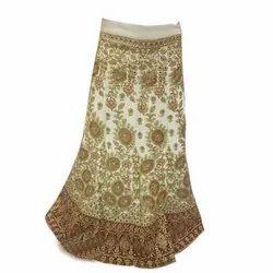 Parmeshwer Textiles Chanderi Bridal Designer Lehenga Choli, Dry clean, 2.25 M