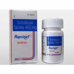 Sofosbuvir 400mg Hepcinat Tablets