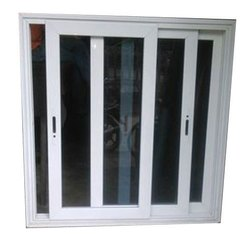 Domal Aluminium Sliding Windows 2 Track Without Mesh