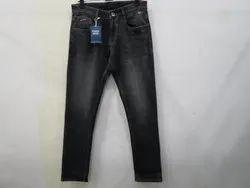 Mens Black Colour Straight Fit Jeans(PW-021)
