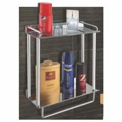 Shelf with Towel Holder Maggpie Double