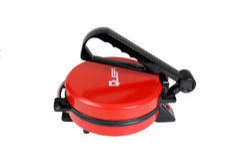 Quba Red Color Roti Maker