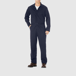DUNG-NAVY-0018 Navy Blue Dungaree Full Sleeve Unisex