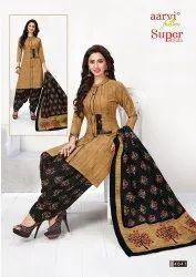Aarvi Fashions Cotton Ladies Salwar Suit