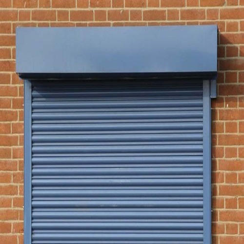 Metal Yellow Mild Steel Rolling Shutter