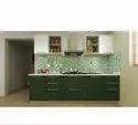 KRIOS Forest Vert Parallel Kitchen