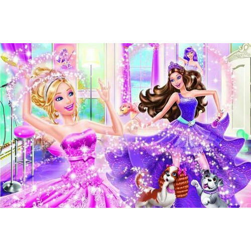 PVC Barbie Doll Wallpaper
