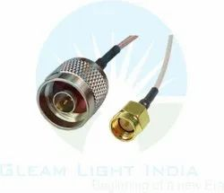 RF Cable Assemblies N Male to SMA Male in RG178