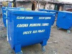 Industrial MS Dustbin