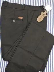 Cotton Plain Polo Fit Mens Pant