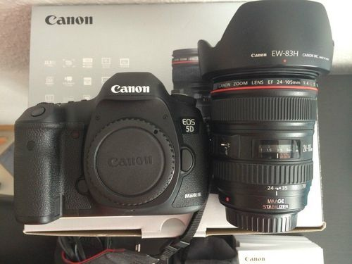 Canon-eos-5d-mark-iii 22 3mp Digital Slr Camera Black, Digital SLR ...