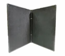 Leatherette Bolt Menu Cover
