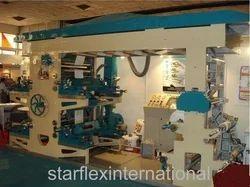 Star Flex International 4 Color Flexographic Or Online Printing Machine