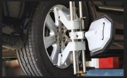 Alloy Wheel And Rim Straighter Service