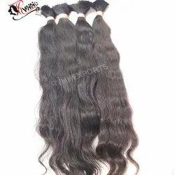 100% Remy Bulk Human Hair Extension Cuticle Virgin Hair