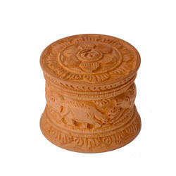 Kadam Wood Carving Box