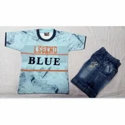 Kids Designer T-Shirt With Half Pant