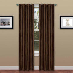 Polyester Plain Window Curtain