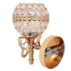 Gold Crystal Wall Lamp