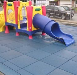 Rubber Playground Flooring Mat
