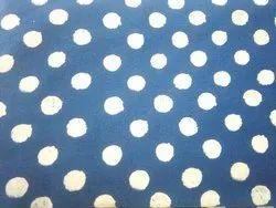Indigo Hand Block Print Fabrics