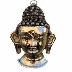 AJN-67 Brass Buddha Wall Hanging