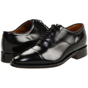 Genuine Leather Mens Black Formal Shoes