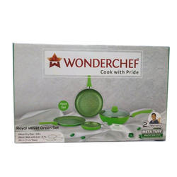 Plastic Green Cookware Set