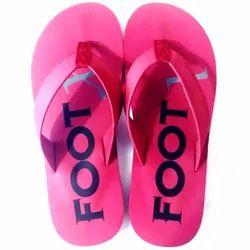 Foot X Super Fost EVA Ladies Pink Slipper, Size: 6-10