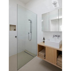 Shower Partition At Best Price In India - Cost of bathroom glass partition