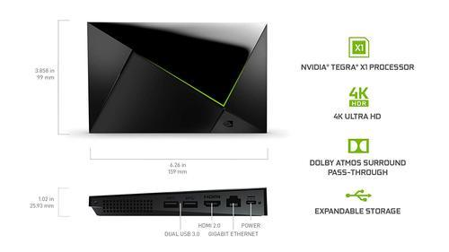 NVIDIA SHIELD TV Streaming Media Player Delivery 10-15DAYS