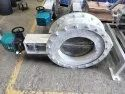 High Temperature Dampers With Refractory Lining
