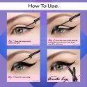 O3  Pro Artist Sketch Marker Liquid Eye Liner Deep Matte Finish Lasts Upto 24 Hours (Pack of 2)