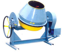 Manual Cast Iron Concrete Drum Mixer Machine