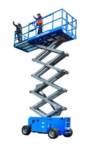 10 Feet Moving Genie Scissor Lift, Capacity: 2-3 Ton | ID: 9124627033