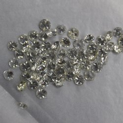 HPHT Diamond GHI Color 0.30 To 0.39 Carat VVS Purity Polished White Synthetic HPHT Round Cut Loose
