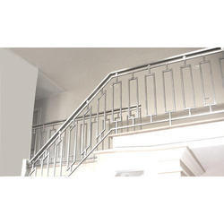 Stairs Modern Stainless Steel Grills