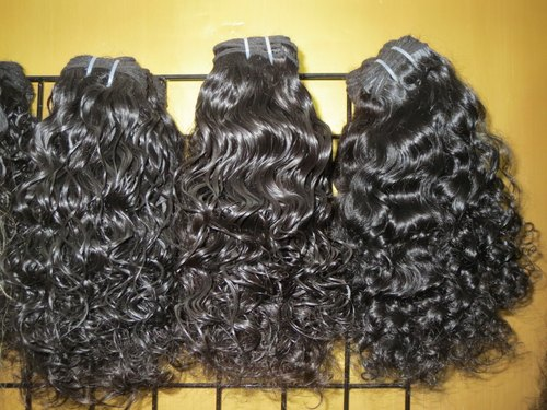 Hair King 100% Temple Natural Indian Human Loose Curly Hair for Personal