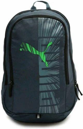 Black Puma Backpack 2f6ce2f51291f